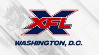 XFL 2020 Deposits Washington, DC