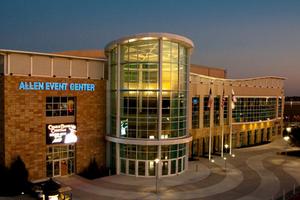 Hotels near Allen Event Center