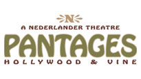 Pantages Theatre Los Angeles