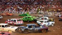 Demolition Derby at Antelope Valley Fair