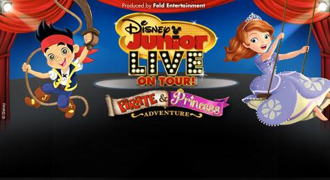 Disney Junior Live On Tour! Pirate & Princess Adventure : Select $40 Below Tix