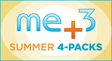 Me+3 Summer 4-Packs