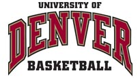 University of Denver Pioneer Mens Basketball