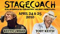 Stagecoach Country Music Festival 2010 General Admission