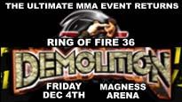 KBPI Presents Ring of Fire 36: Demolition - MMA
