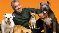 Cesar Millan at Times Union Perf. Arts-Moran
