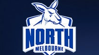 North Melbourne vs. Greater Western Sydney GIANTS