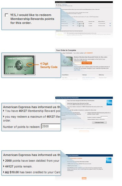 Ticketmaster - American Express