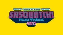 Sasquatch Festival-Three Day Pass. Sat May 26, 2017 - Sun May 28,2017
