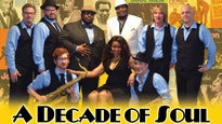 A Decade of Soul - Classic Soul & Motown Broadway Dinner Show
