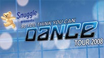 So You Think You Can Dance Live Tour 2008 presale password for show tickets.