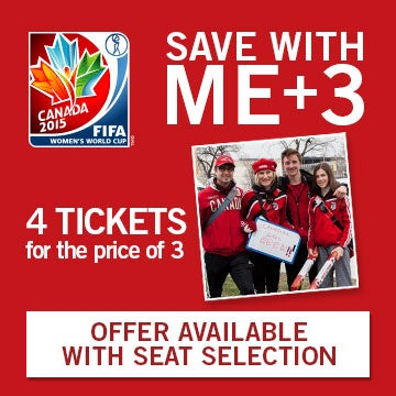 Save with ME+3. 4 tickets for the price of 3. Offer available with Seat Selection.