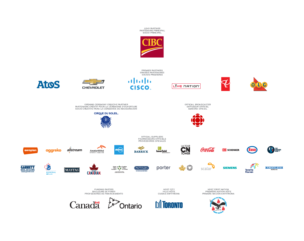 Pan Am / Parapan Am Games Sponsors