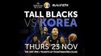 Tall Blacks vs Korea