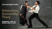 Balanchine,Ratmansky,Tharp
