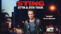 Sting 57th & 9th Tour