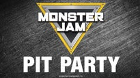 Monster Jam Pit Pass: Preshow Pit Party From 4:30pm-6:00pm