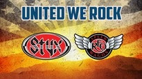 107.7 The Bone Presents:United We Rock Tour w/ Styx & REO Speedwagon