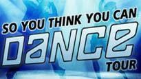 Promotion code for So you think you can Dance