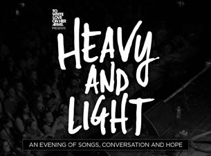 TWLOHA's Heavy and Light Tour featuring Jon Foreman & Fiction Family