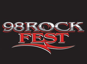 Image result for 98 rockfest logo 2019