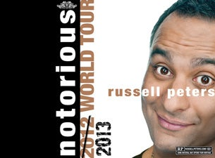 Russell Peters - Notorious 2013 World Tour