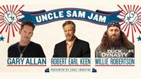 Gary Allan, Robert Earl Keen, And Willie Robertson From Duck Dynasty
