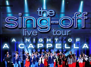 The Sing-Off Live Tour - Official VIP Packages