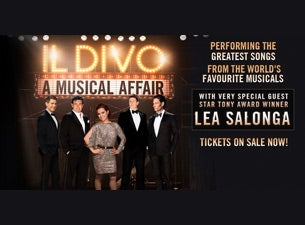IL DIVO - A MUSICAL AFFAIR - The Greatest Songs Of Broadway Live