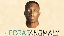 The Anomaly Tour Feat Lecrae w/ Special Guests Andy Mineo & DJ Promote