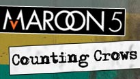 Maroon 5 and Counting Crows and More presale password for concert tickets.