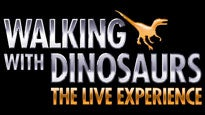 Walking with Dinosaurs - The Live Experience presale password for show tickets in Fresno