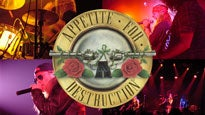 Appetite for Destruction fanclub presale password for concert tickets in Houston