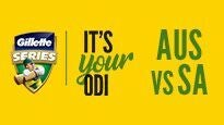 Gillette One Day International Series - Australia v South Africa