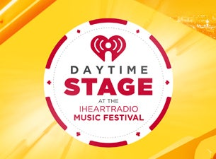 Tickets | Daytime Stage At The iHeartRadio Music Festival