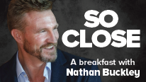 Breakfast with Nathan Buckley