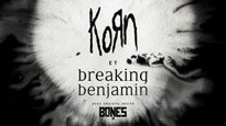 Korn & Breaking Benjamin presale passcode for show tickets in a city near you (in a city near you)