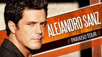 FREE Alejandro Sanz presale code for concert tickets.