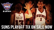 Phoenix Suns Playoffs: Round 3/Home Game 3 fanclub presale password for sport tickets in Phoenix, AZ