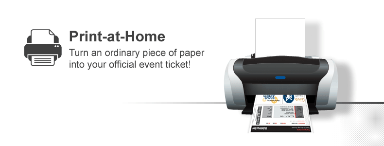 print at home turn an ordinary piece of paper into your official event