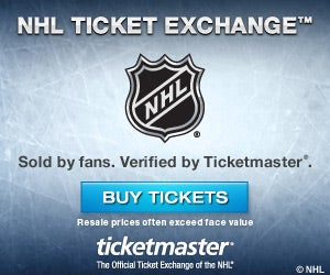NHL Ticket Exchange - Sold by fans. Verified by Ticketmaster. - Buy Tickets - Resale prices often exceed face value