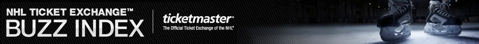 NHL Ticket Exchange Buzz Index - Ticketmaster, The Official Ticket Exchange of the NHL
