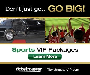 Ticketmaster Sports V I P Packages - Learn More Here