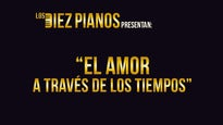 Diez Pianos. El amor a través de los tiempos