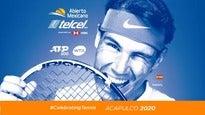 Abierto Mexicano de Tenis. Abono incluye 3 días