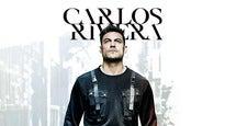Carlos Rivera (Secciones Prefer, Luneta, Balcón) Incluye boleto canje