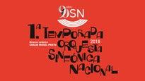 Orquesta Sinfónica Nacional. Liádov-Prokofiev-Scriabin.