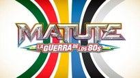 """Matute en Concierto """"La Guerra de los 80s"""""""