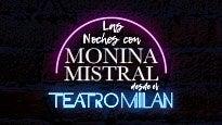Las noches con Monina Mistral desde el Teatro Milán