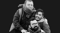 """""""Chisgare"""" con El Cojo Feliz, Alex """"El Chaparro"""" y Roberto Andrade"""